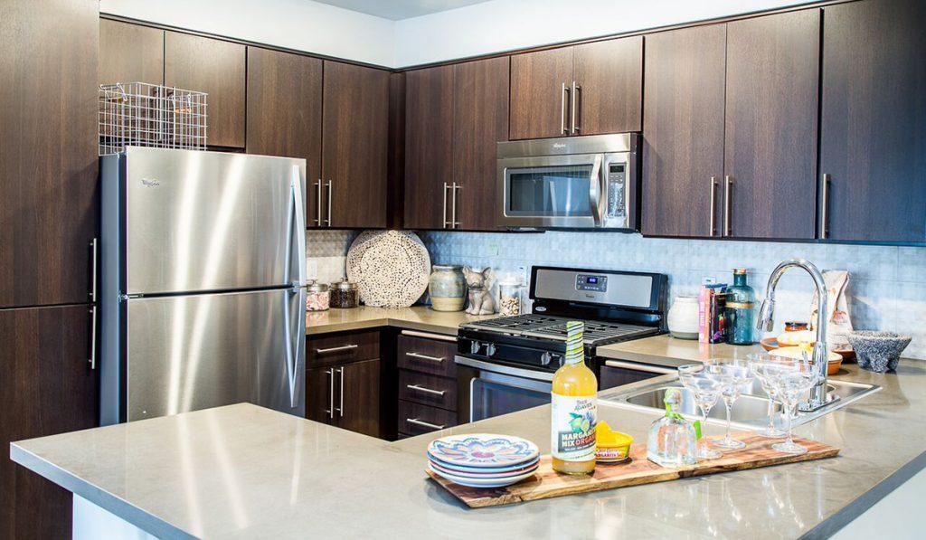 residences-02-1br-bedroom-model-kitchen